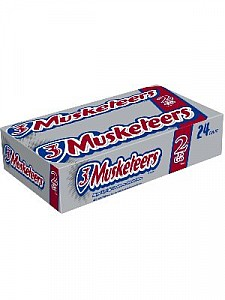 3 Musketeers King Size 2 To Go Bars 24ct