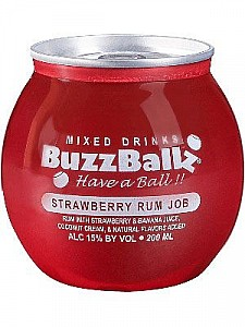 Buzzballz Strawberry Rum Job 200ml