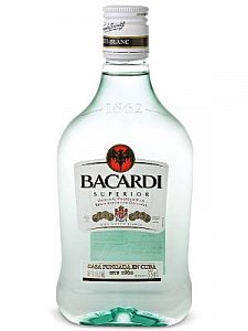 Bacardi Superior Rum 375ml