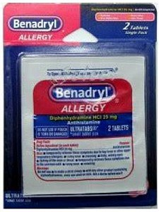 Benadryl Single 12ct