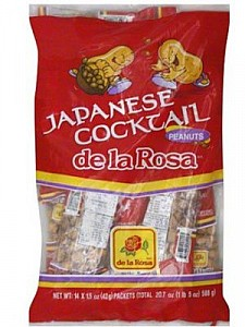 De La Rosa Japanese Cocktail Peanuts 14ct