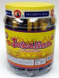 Jabalina Hot & Salted Candy Tub 40ct