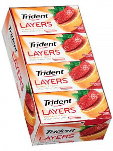 Trident Layers Wild Strawberry & Tangy Citrus 10ct